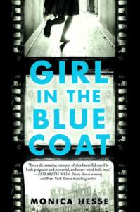 girl in blue coat